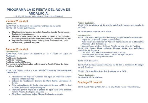 Fiesta Andaluza del Agua