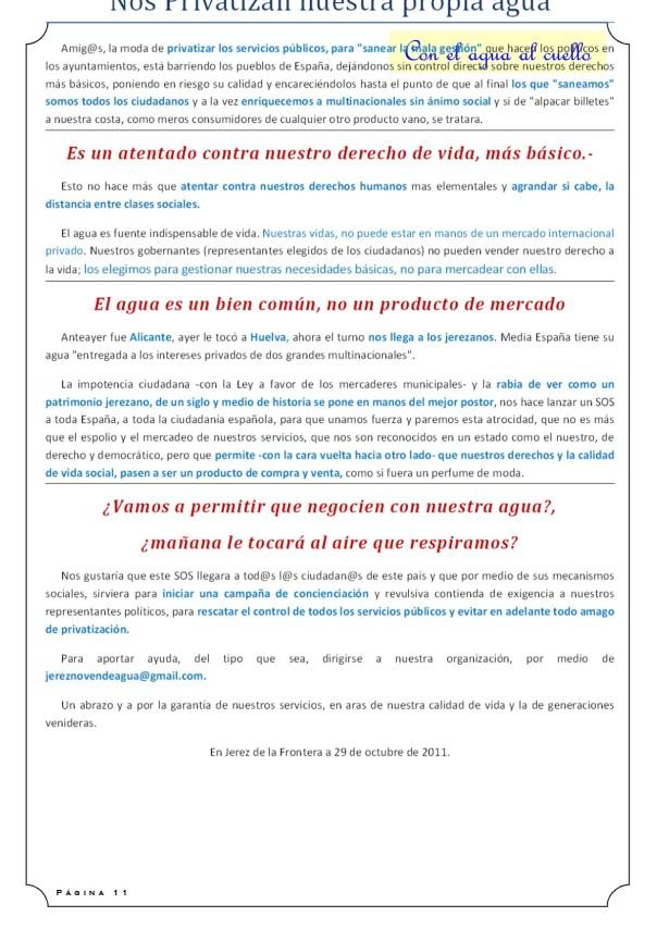 CON EL AGUA AL CUELLO 11