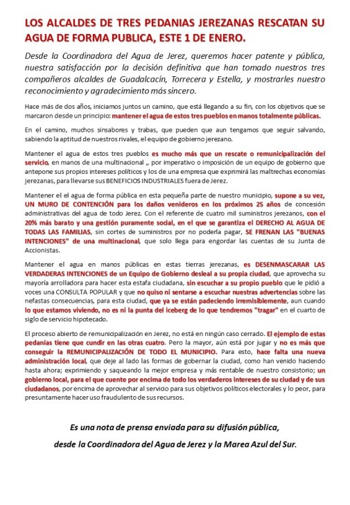 NOTA DE LAS PEDANIAS-coordinadora - 15-12-2014.- (1)